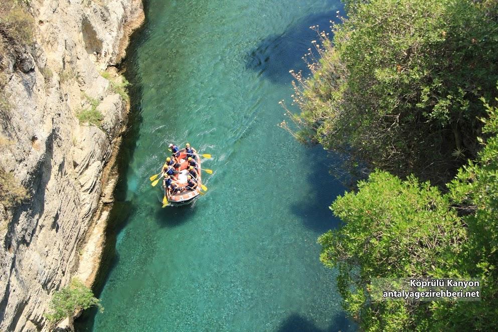 Köprülü Kanyon Milli Parkı ve Rafting