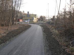 Photo: Přes nádražím v Paskově. Cyklotrasa č. 59 mezi Vratimovem a Sviadnovem
