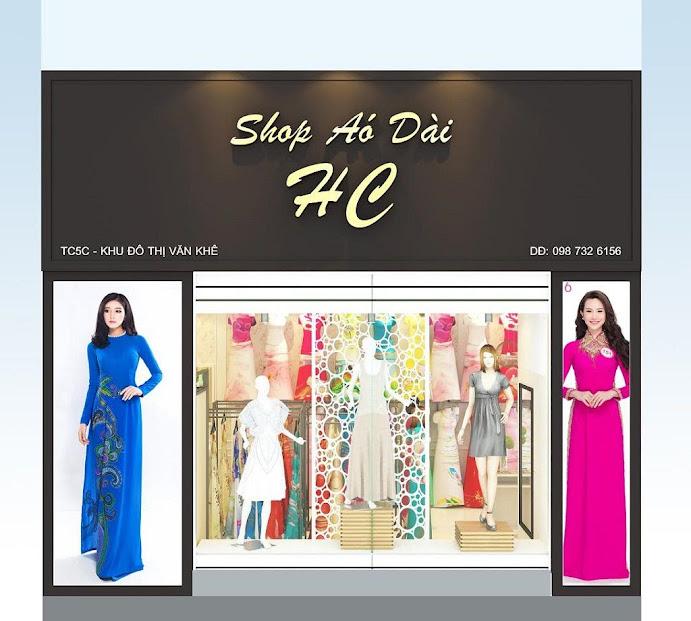 thiết kế shop áo dài HC tại Văn Khê