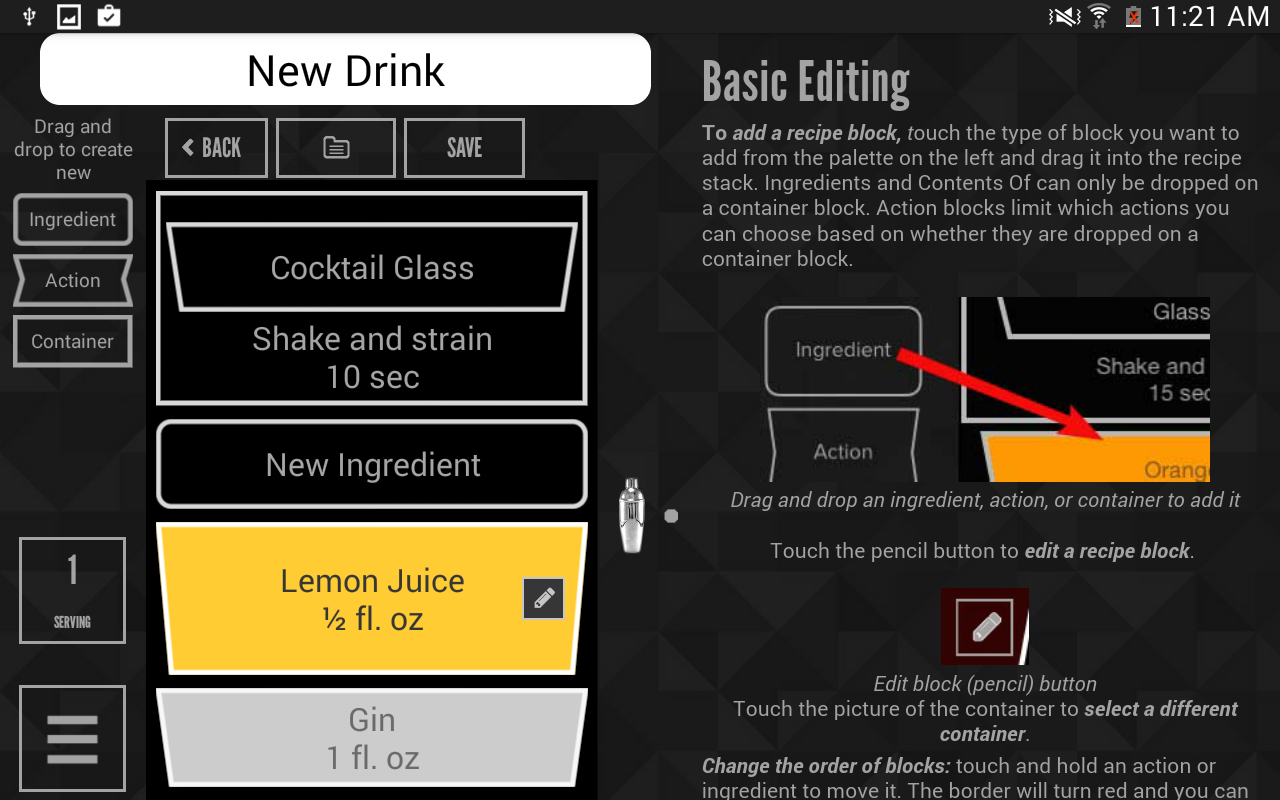 Perfect Drink - screenshot