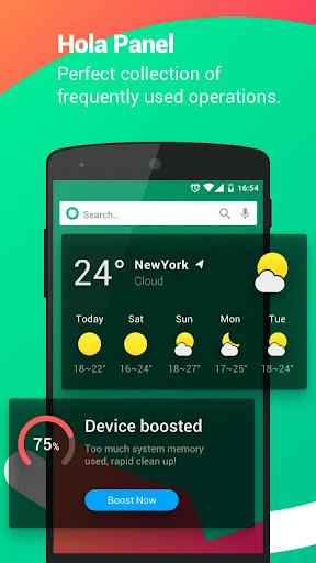 Hola Launcher-Simple,Fast 3.1.0 screenshots 2