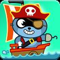 Pango Pirate - Adventure Game for kids icon