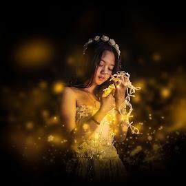 Light of Dream by Ricky Rahadian - People Portraits of Women ( light, model, portrait, indonesia, women )
