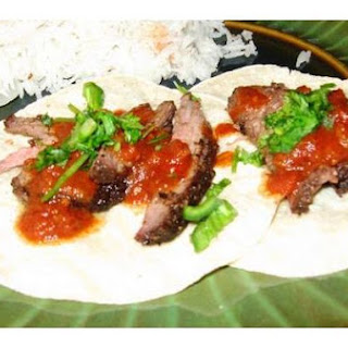 Why I Decided To Make Indian Spiced Tri-Tip Tacos With Tangy Tomato Sauce