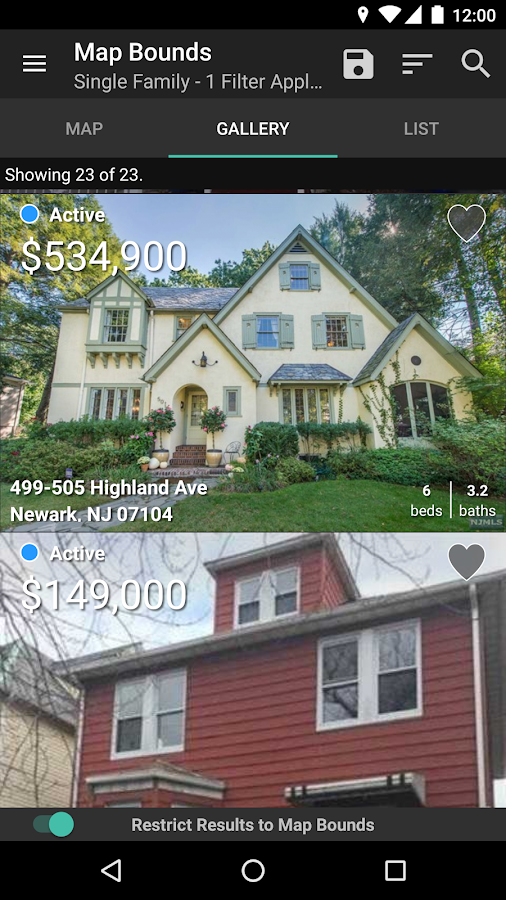 NJMLS - New Jersey Real Estate- screenshot