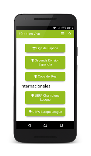 Live Spanish Soccer screenshot 4