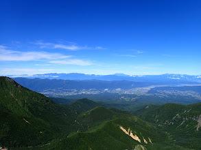 横岳から西方面