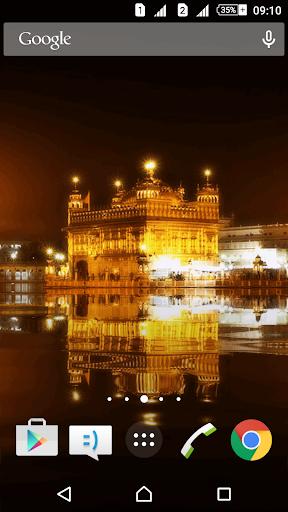 Golden Temple Live Wallpaper