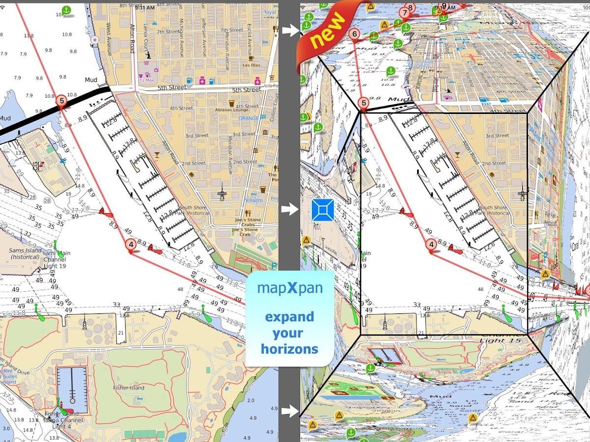 Aqua Map New Zealand GPS- screenshot