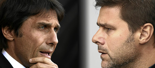 Face off: Chelsea's Antonio Conte, left, and Mauricio Pochettino of Spurs have primed their teams for the FA Cup semi. Picture: GETTY IMAGES