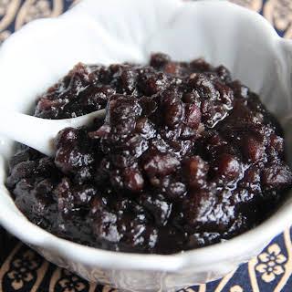 Anko (sweet Red Bean Paste).