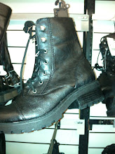 Photo: For some reason, I always love these black lace-up boots. The husband thinks they look ridiculous. As me if I care.