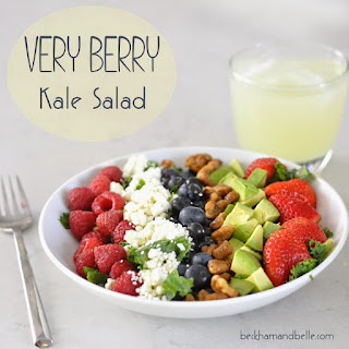 Very Berry Kale Salad