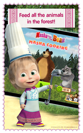 Masha and Bear: Cooking Dash  screenshots 18