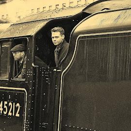 by Gordon Simpson - Transportation Trains