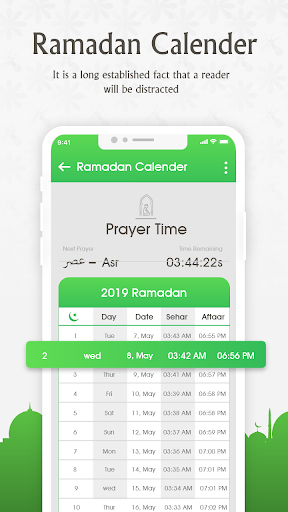 Prayer Times —  Ramadan calendar & Azan Time 7.4 screenshots 2