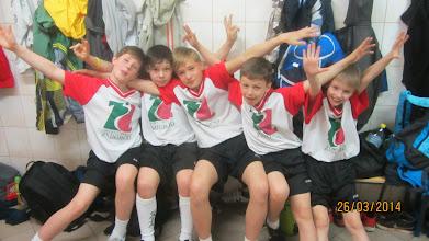 Photo: Chłopcy nie raz i nie dwa w tym dniu pokazali, jak bardzo potrafią okazywać swoją radość