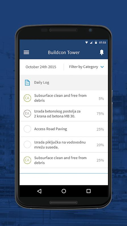 Buildcon- screenshot