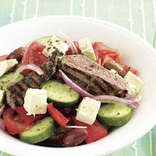 Grilled Lamb and Tomato Salad