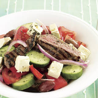 Grilled Lamb and Tomato Salad.