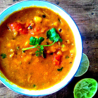 Tangy Lobia Curry – Tangy Black Eyed Bean Curry