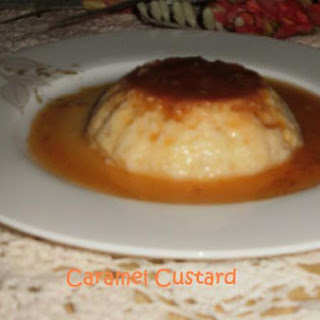 Mom`s Special Caramel Custard