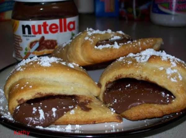 Nutella Croissants Recipe