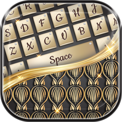 Luxury Keyboard Gold Themes