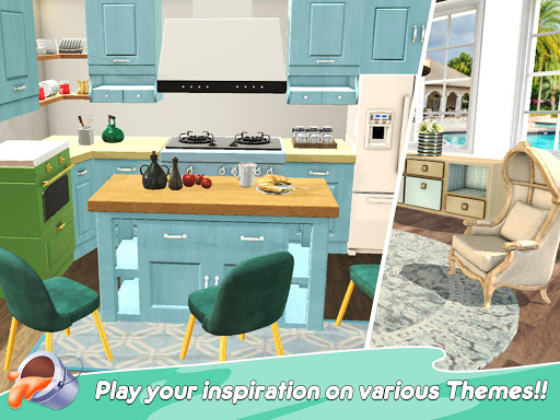 Home Paint: Color by Number & My Dream Home Design android2mod screenshots 12