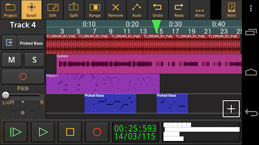 Audio Evolution Mobile Studio TRIAL 4.9.8.2 screenshots 1