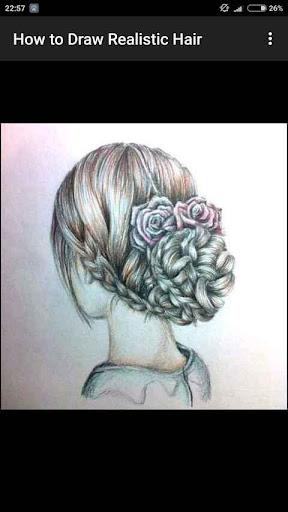 How to Draw Realistic Hair  screenshots 14