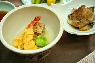 Photo: 炊合せ(海老黄身煮)