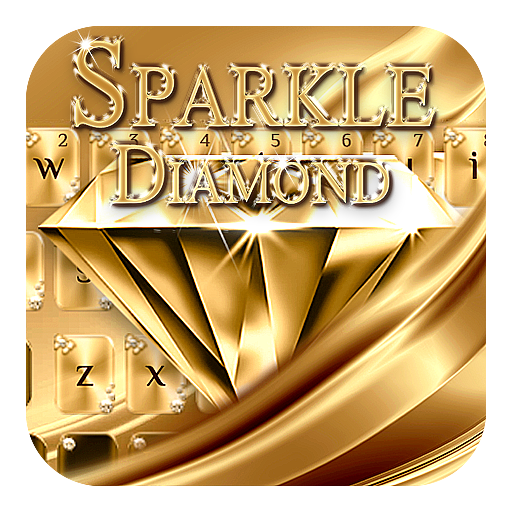 Sparkly Diamond Keyboard