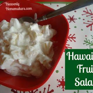 Hawaiian Fruit Salad.