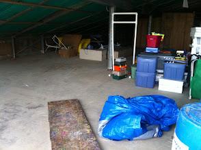 Photo: HFR day camp under bleachers