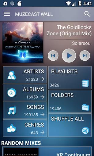 Muzecast Hi-Def Music Streamer screenshot
