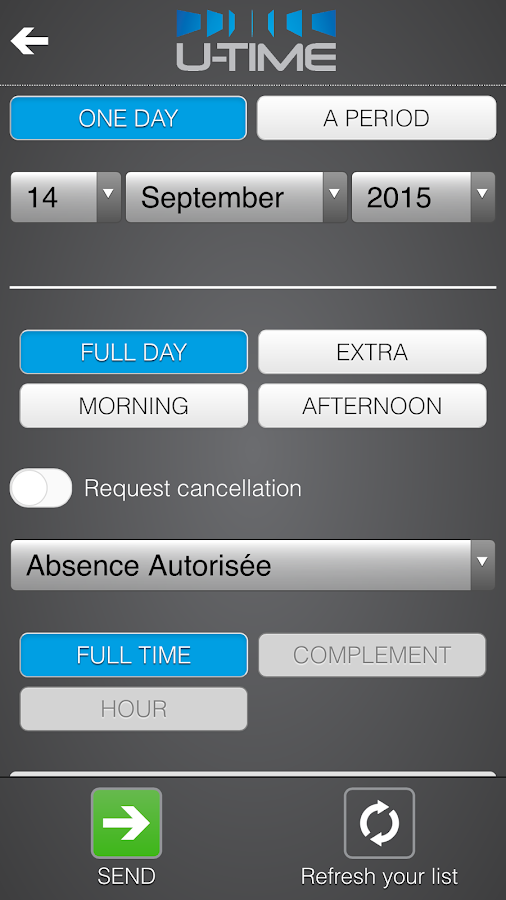 U-Time- screenshot