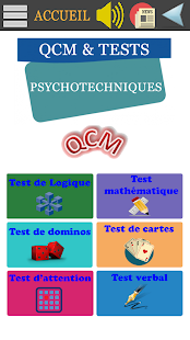 Tests Psychotechniques Examens Capture d'écran