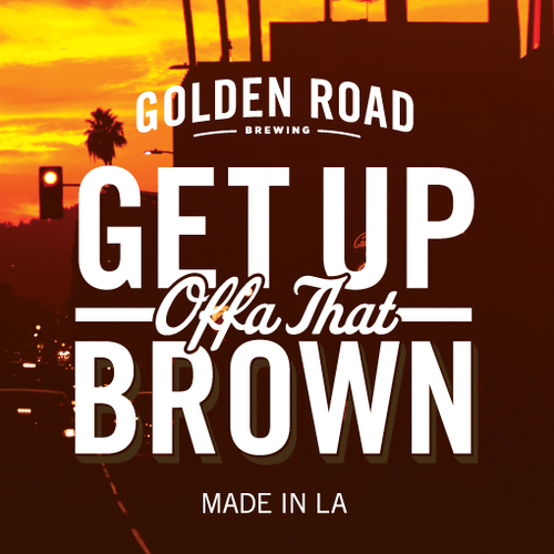 Logo of Golden Road Get Up Offa That Brown