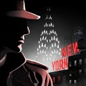 New York Noir - a detective story icon