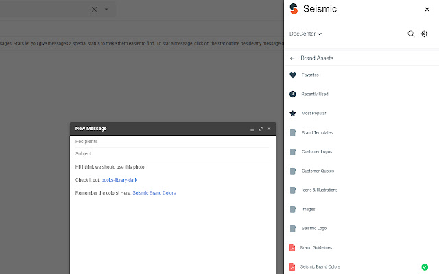 Seismic for Gmail