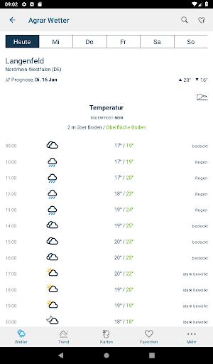 Bayer Agrar Wetter  screenshots 14