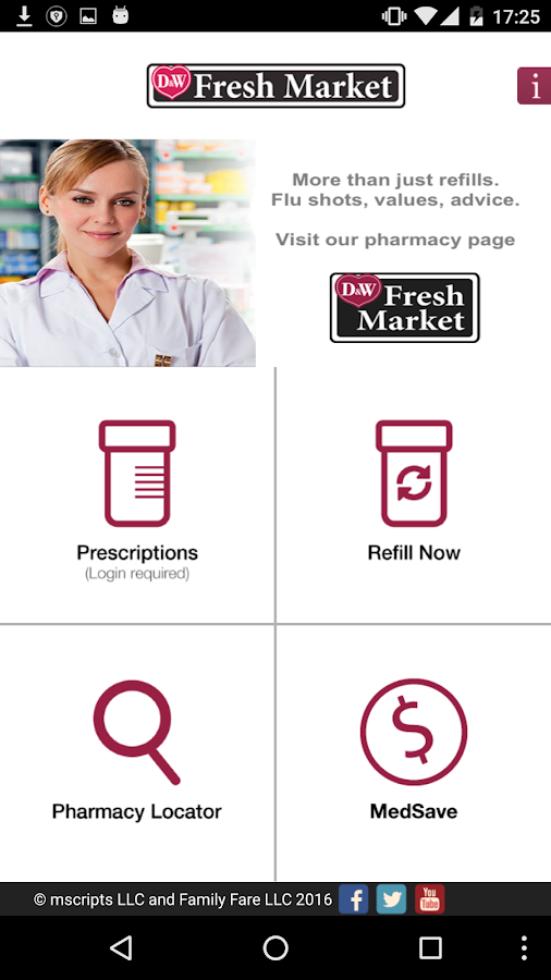 D&W Fresh Market Pharmacy- screenshot