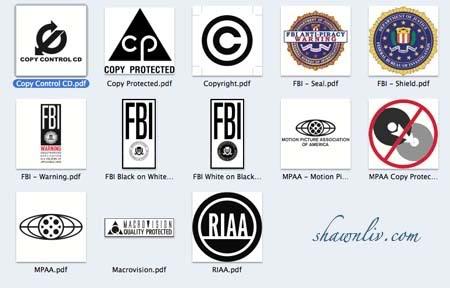 All Copyright Logo Vector