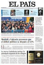 Photo: En la portada de EL PAÍS del sábado 19 de mayo: Madrid y Valencia provocan que el déficit público se dispare al 8,9%; la nueva Ciudadanía incluye la principal exigencia de los obispos, la eliminación de la referencia al rechazo de la homofobia; récord de Facebook en Wall Street; en 'Revista de Sábado', la modelo Linda Evangelista muestra su camaleónica inteligencia en el juicio por su hijo; y en Babelia, Italia, una primavera de cuento. http://srv00.epimg.net/pdf/elpais/1aPagina/2012/05/ep-20120519.pdf