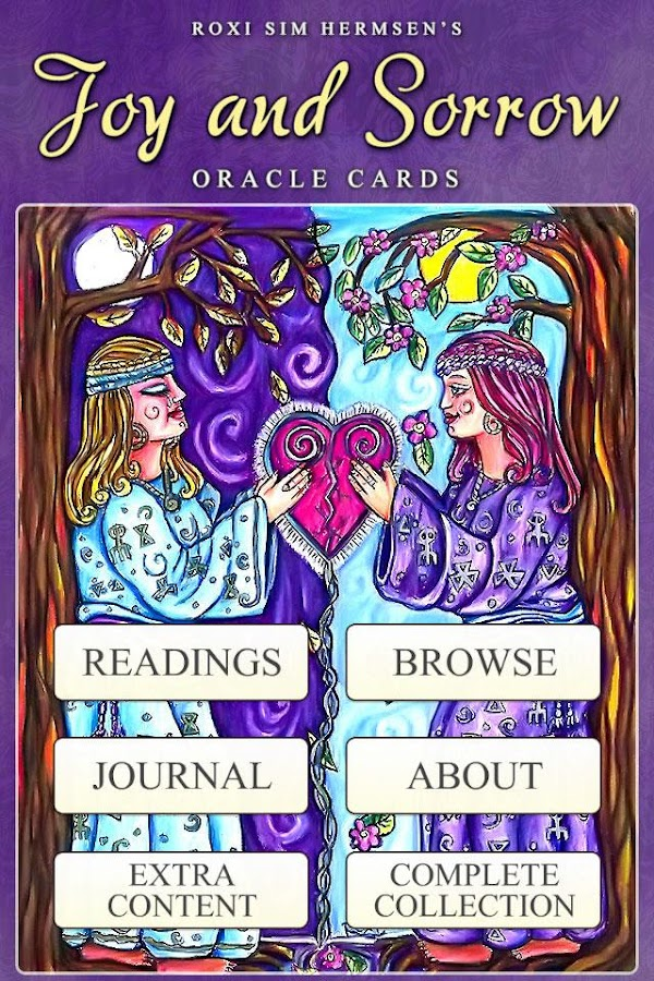 Joy & Sorrow Oracle Cards- screenshot