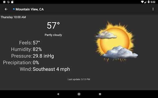 Palmary Weather screenshot 18