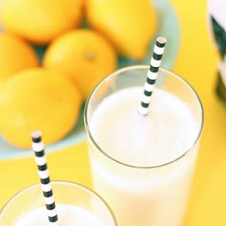 Lemon Ginger Smoothie.