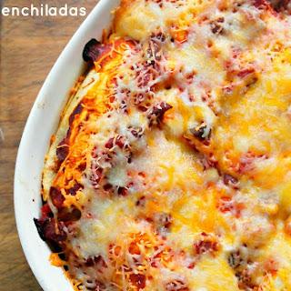 Breakfast Enchilada Overnight Bake.
