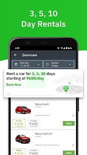 Zoomcar - Sanitized Self-drive car rental service Screenshot